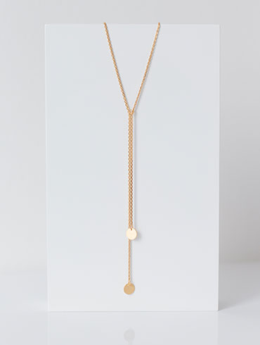 Double Necklace Gold