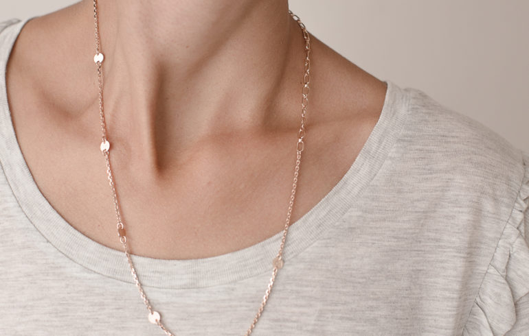 Breeze Necklace Red