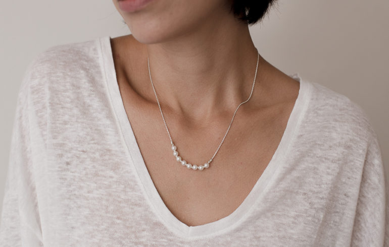 Petite Pearls Necklace