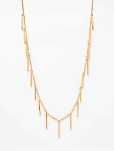 Thorn Necklace Gold