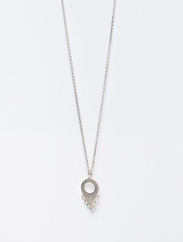Adornment No2 Necklace Silver