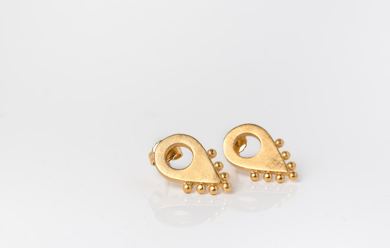 Adornment No2 Earrings Gold