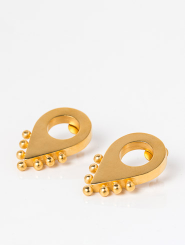 Adornment No1 Earrings Gold