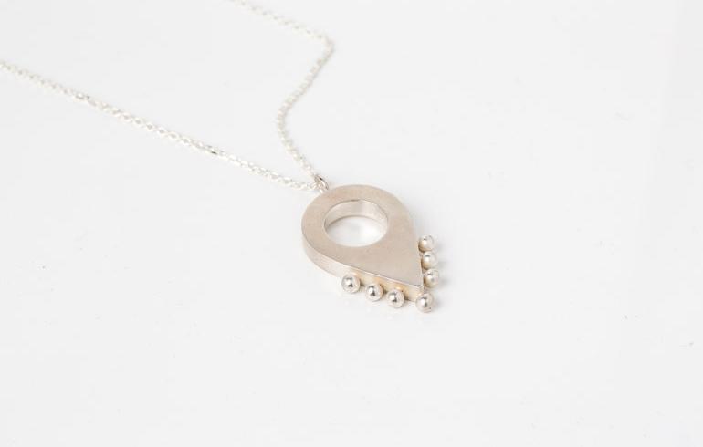 Adornment No1 Necklace Silver