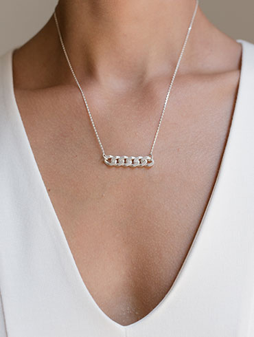 Chains Necklace Silver