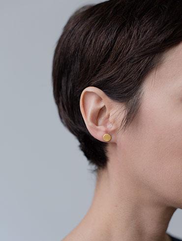 Double Earrings Gold