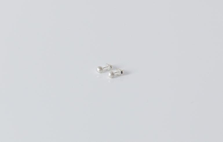 Mini Earrings Silver