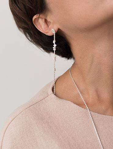 Knots Earrings Silver