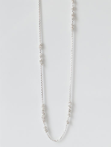 Knots Necklace Silver