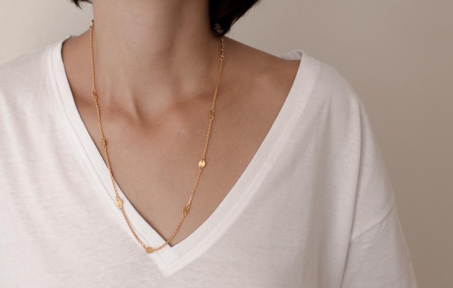 Breeze Necklace Gold