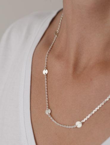 Breeze Necklace Silver
