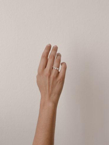 Petite Pearls Ring