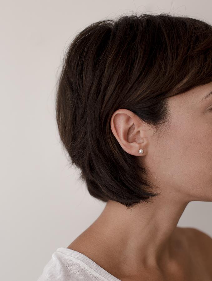 Petite Pearls Earrings