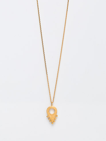 Adornment No2 Necklace Gold
