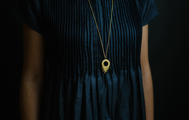Adornment No1 Necklace Gold
