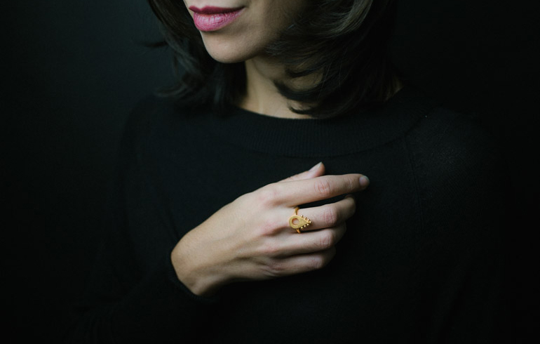 Adornment No2 Ring Gold