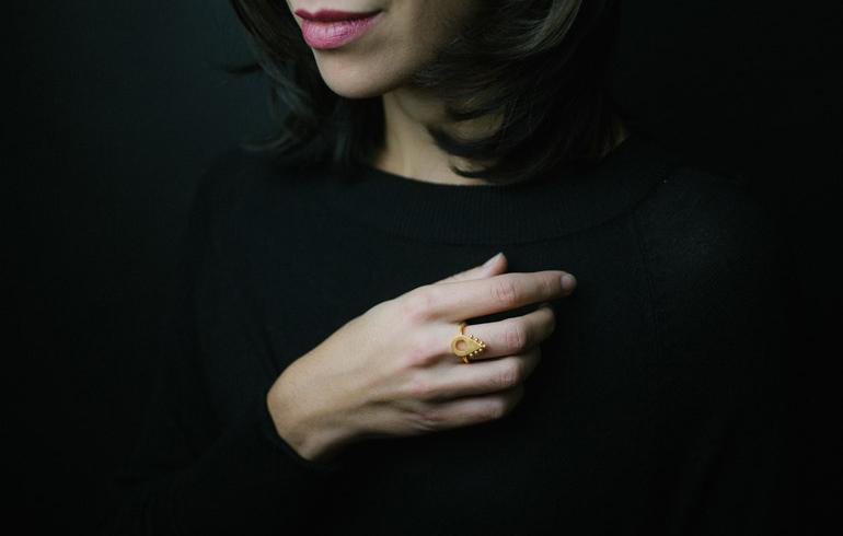 Adornment No2 Ring Gold
