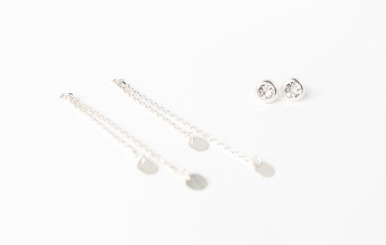 Rock Crystals Earrings